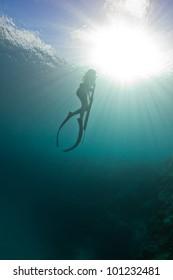 Imágenes, fotos de stock y vectores sobre Fishing with Spear