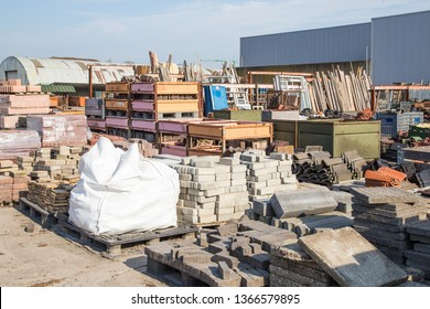 Reusable building materials from old houses and buildings. A good example of the circual economy.