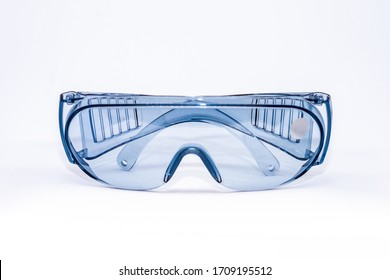 Reusable plastic glasses, personal protective equipment