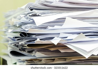 Reuse Papers in office / Papers Reuse in thailand office