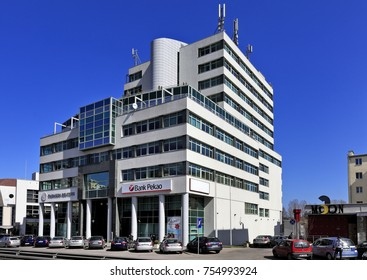 The Reuters building in Gdynia, Tri-city, Pomeranian province, Poland, where a shooting had place on Tuesday evening, November 14, 2017