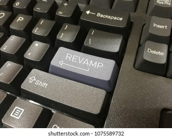 Revamp word on keyboard button