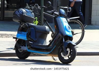 Moped Rentals Images, Stock Photos & Vectors | Shutterstock