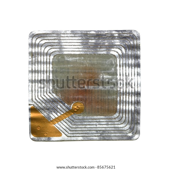 Reverse barcode on white background