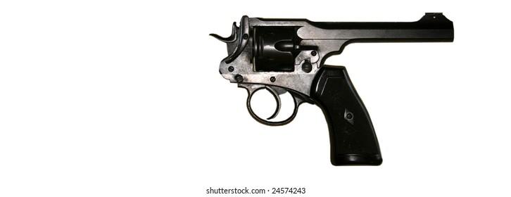 Reverse Gun A 45 caliber handgun built backwards so it shoots the owner