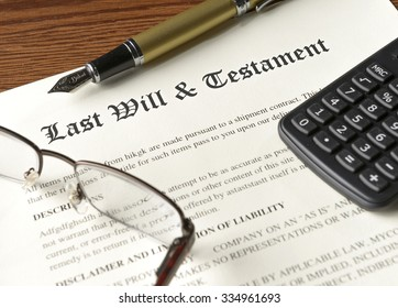 reviewing last will and testament