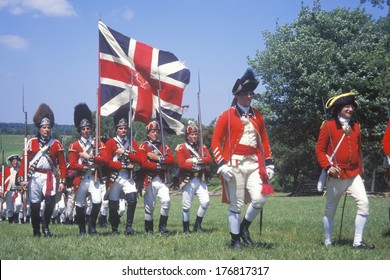 American Revolutionary War Reenactment Images, Stock Photos
