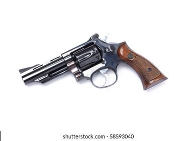 revolver or handgun