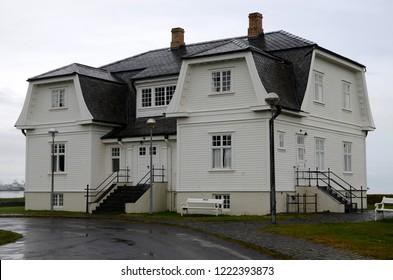 Reykjavik, Iceland - July 23, 2016: Hofdi Manson.