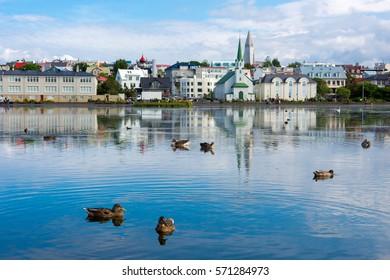 Reykjavik summer
