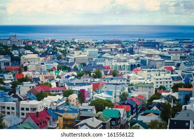 Reykjavik View Iceland City
