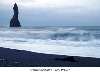 Reynisfjara after the storm, Iceland