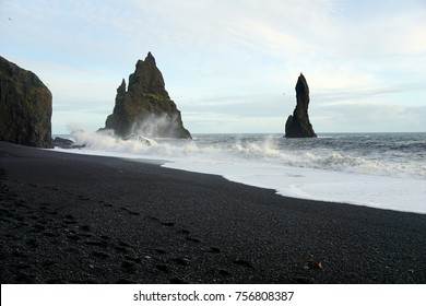 Reynisfjara black sand beach near Vik