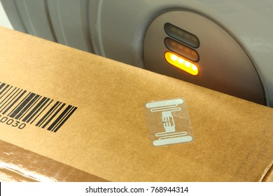 Rfid Label On Box