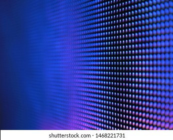 RGB smd LED lights, with white, blue and purple colors. Pixel Pitch Leds. Perspective View background texture