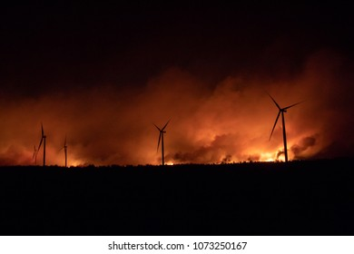 The Rhea Oklahoma Wildfire
