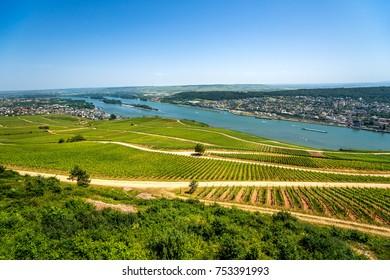 Rheingau, Niederwalddenkmal, Rudesheim