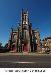 Rhema Christian Centre Church on Dean Bridge in Dean Village in Edinburgh, UK
