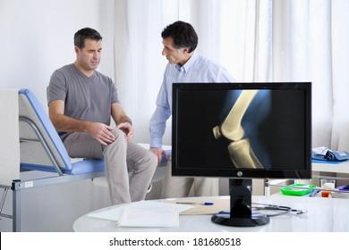 Rheumatology Consultation Man