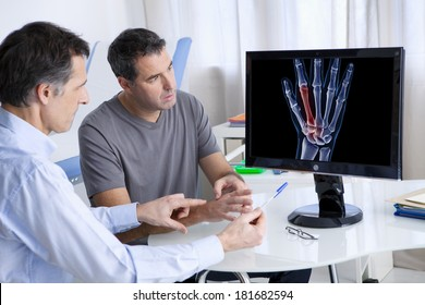 Rheumatology Consultation Man