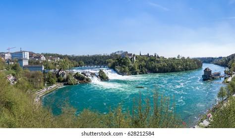 Rhine Falls HDR Panorama