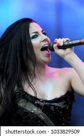 """Rho (Milano) Italy 07/06/2012 :   Amy Lee of Evanescence in concert during the musical event """"Heineken Jammin Festival""""."""