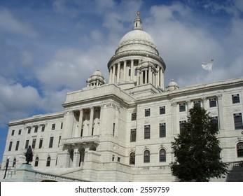 Rhode Island State Capitol in Providence, RI