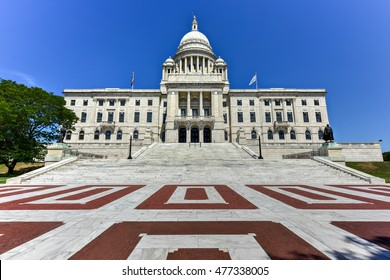 The Rhode Island State House, the capitol of the U.S. state of Rhode Island.