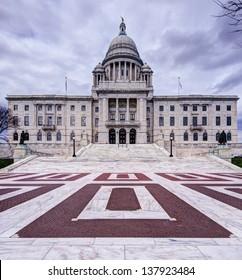 Rhode Island State House in Providence, Rhode Island.