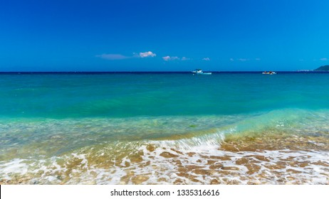 Rhodos island ixia beach skyline