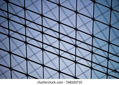 Rhombus pattern architecture.