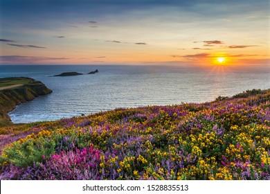 Rhossili Bay, Gower, Peninsula, Wales, U.K.