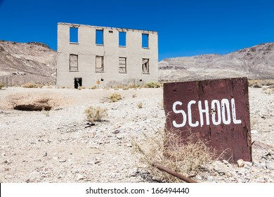 Rhyolite is a ghost town in Nye County, in the U.S. state of Nevada