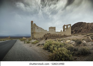 Rhyolite Nevada Ghost Bank