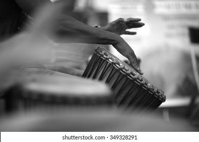 Rhythm of Africa, drum music