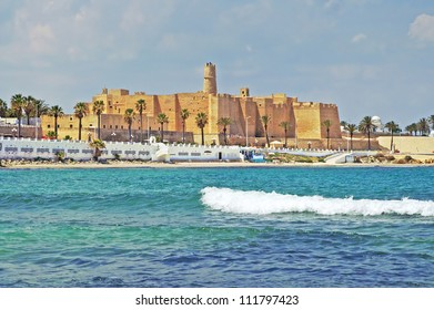 Ribat in Monastir, Tunisia. It was used to scan the sea for hostile ships as a defence against the attacks of the Byzantine fleet. The Ribat was also one of the filming locations for Jesus of Nazareth