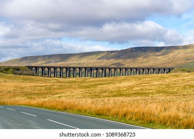 The Ribblehead Viaduct or Batty Moss Viaduct carries the Settle–Carlisle Railway across Batty Moss in the valley of the River Ribble at Ribblehead, in North Yorkshire, England.