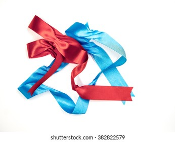 ribbon collection  on white background