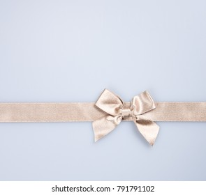 ribbon or golden ribbon on a background