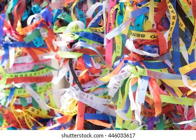 Ribbons of the Ribbons of the Lord of Bonfim, Salvador -
