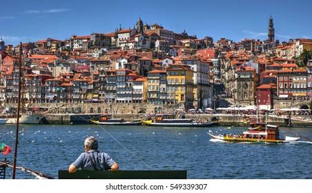 Ribeira view in Porto, Portugal