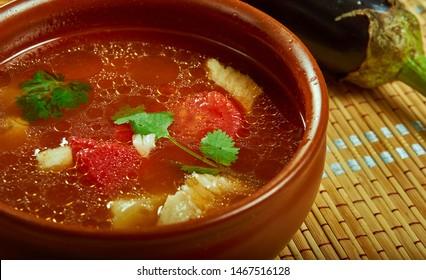 Ribena chorba, traditional Bulgarian fish soup