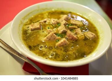 Ribollita, traditional tuscany soup