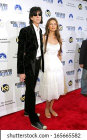 Ric Ocasek, wife Paulina Porizkova at No Direction Home Bob Dylan DVD Premiere, The Ziegfeld Theatre, New York, NY, September 19, 2005