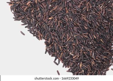 rice berry macro while brackground