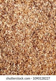 rice bran shell background