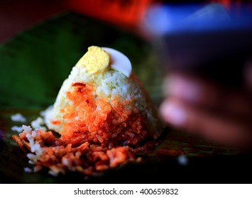 rice cooked with coconut milk