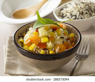Rice dish with vegetables