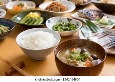 Rice, Japanese food, white rice