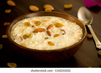 Rice kheer is a basic sweet delicacy which is prepared across India. Creamy, tasty and delicious kheer is made using rice, milk, sugar and cardamom powder.